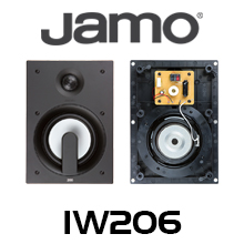 רמקולים שקועים דגם IW206 של חברת Jamo