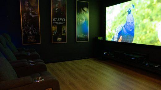 חדר קולנוע ביתי